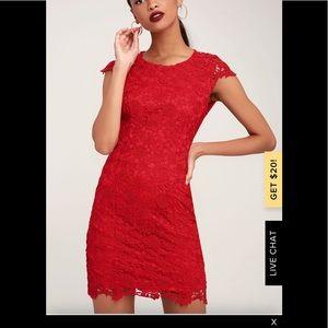 Lulus GREY dress